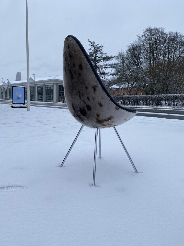 Dråben i sælskind fra Grønland - Polstret af mø...