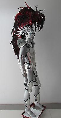 Da NeeNa C061 Iron Hero Men Male Warrior Alien Indian Headdress Costume Set