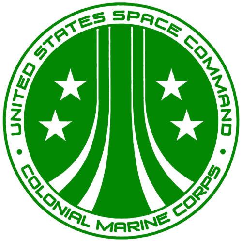 Alien Colonial Marines Vinyl Decal Sticker for Car Van Laptop Tablet Wall