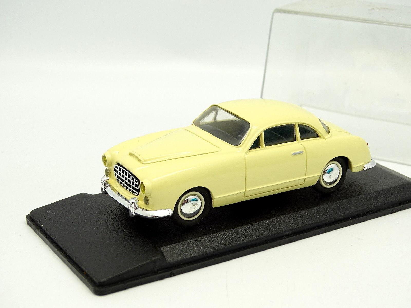 Leader Résine 1 43 - Ford Comete Jaune Clair