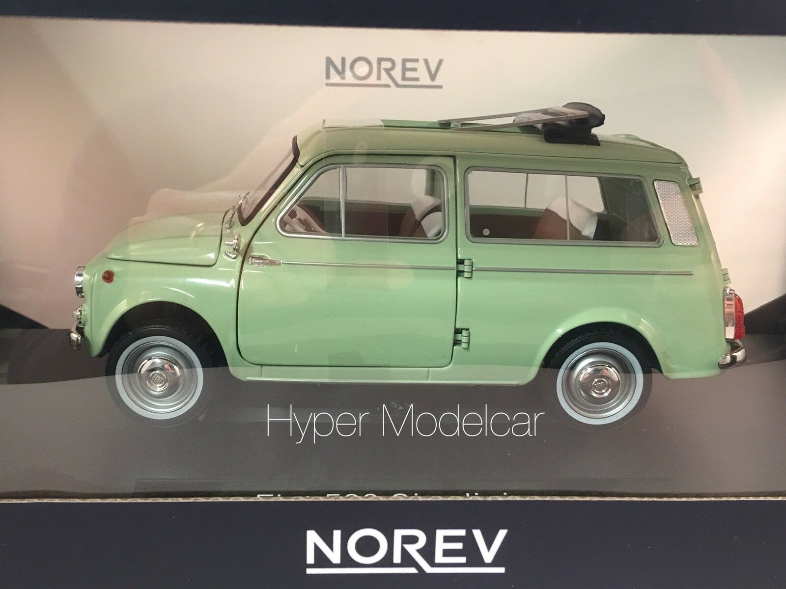NOREV 1 18 Fiat 500 Giardiniera 1962 Light verde Art.187723