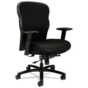 Basyx-VL705-Series-Big-amp-Tall-Mesh-Chair-Mesh-Back-Fabric-Seat-Black-VL705VM10