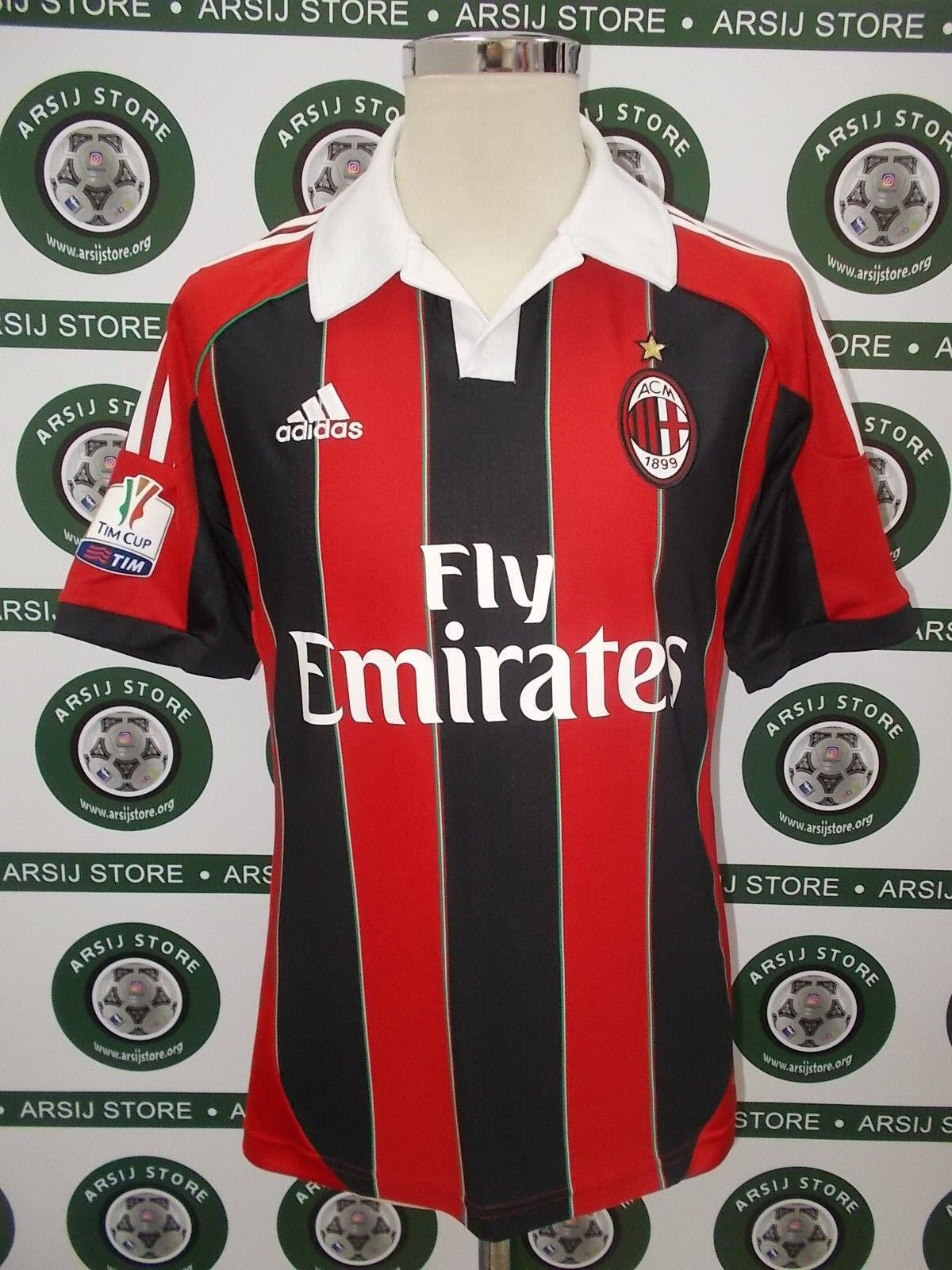 826fb4bc34b Maglia calcio shirt maillot camiseta trikot trikot trikot MILAN DE JONG TG  M 2012 13 4aa788