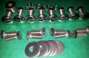 VW-Beetle-Blade-Bumper1949-1967-Polished-Stainless-Fitting-Bolts-Volkswagen-Bug