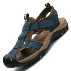 2018 Men/'s Closed Toe Shoes Walking Sandals Sport Beach Trail Vacation Summer