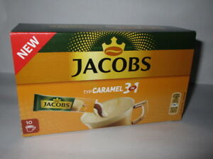 Details About 4 Packs Jacobs Instant Coffee Sticks Caramel 3 In 1 New From Germany