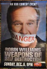 """Robin Williams in """"Weapons of Self Destruction"""" rolled one sheet 27x40"""