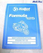 Italjet Formula 125 Motor Morini  Werkstatthandbuch Reparaturanleitung