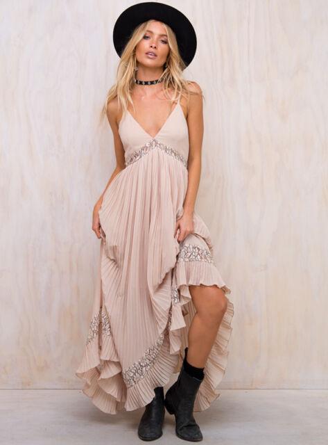 New Women's Champagne Dreams Maxi Dress
