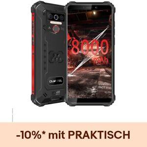 OUKITEL WP5(2020) 8000mAh Outdoor Smartphone Handy 4GB+32GB ohne Vertrag Schwarz