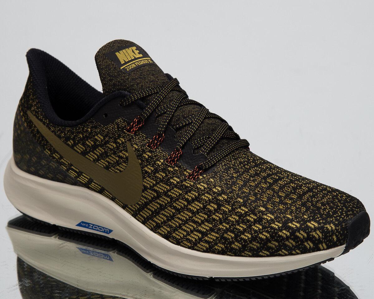 Nike air zoom pegasus 35 uomini uomini uomini scarpe da ginnastica nuove 942851 011 oliva nera   modello di moda    Uomo/Donna Scarpa  76a919