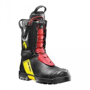 Haix-Fire-Hero-2-UK-3-EU-35-US-4-Feuerwehrstiefel-Arbeitsstiefel-NEU