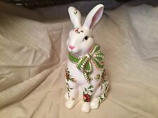 Royal Albert Old Country Roses Bunny Rabbit Large Figurine Statue  New
