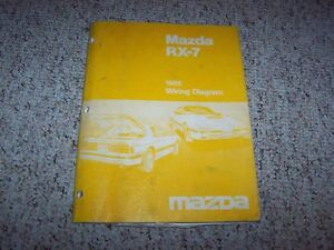 image is loading 1988-mazda-rx-7-rx7-factory-original-electrical-