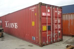 40ft High Cube Shipping and Storage Container - Wind and Watertight - EDINBURGH