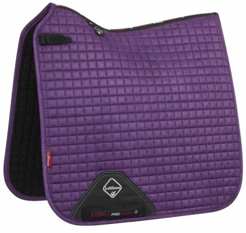 LeMieux ProSport SUEDE SUEDE SUEDE DRESSAGE SQUARE Saddlecloth Full NEW WINTER 2018 COLOURS b53a7b