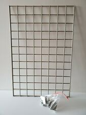36 X 24 Wire Wall Grid Panel Grid For Hanging Clothe Beige Color