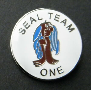 Details about Seal Team 1 One US Navy USN Lapel Hat Pin Badge 1 inch