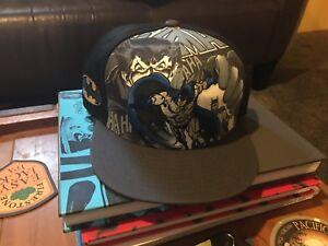 New era Bruce Wayne Batman cape snapback baseball cap black blue ... bfd185465b4