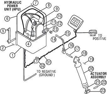 New Bennett Trim Tab Parts /& Accessories A1114 Lower Hinge /& Pin