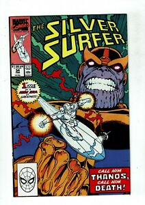 Silver-Surfer-34-VF-NM-9-0-Thanos-Infinity-Gauntlet-Infinity-War-Endgame
