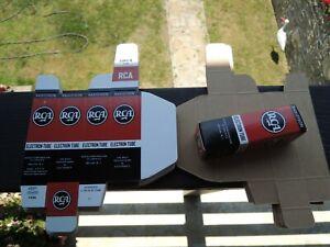 VTG-RCA-USA-Tube-Karton-Faltschachtel-fuer-Radio-Roehren-12au7-12ax7-ecc803s-e83cc-e88cc