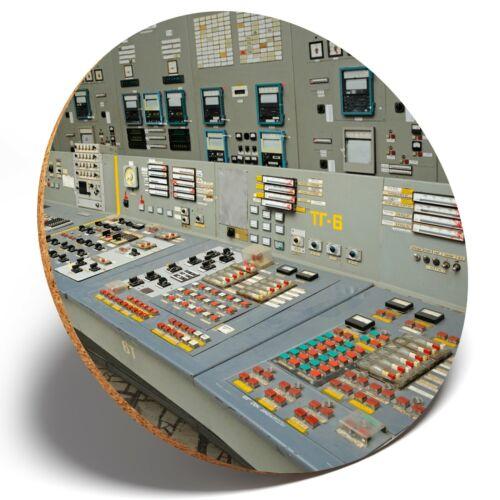 Round Coaster Kitchen Student Kids Gift #2350 1 x Chernobyl Nuclear Reactor