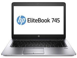 Elitebook 745 G2 Ultrabook AMD A8 Pro-7150B R5 8 GB DDR 3L RAM, 120GB SSD