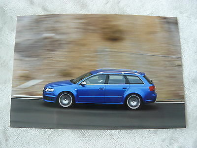 Audi Rs 4 Avant 2006 - Pressefoto Werk-foto Press Photo (a0023