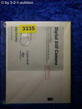 Sony Bedienungsanleitung DSC P73 /P93 Digital Still Camera (#3335)