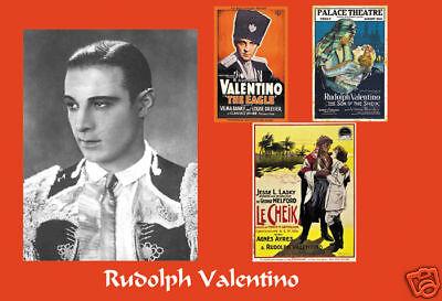 Rudolph Valentino photograph Portrait collage art print