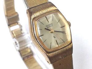 3b8c510a192a La imagen se está cargando Reloj-mujer-Citizen-Quartz -Original-Vintage-calibre-Citizen-
