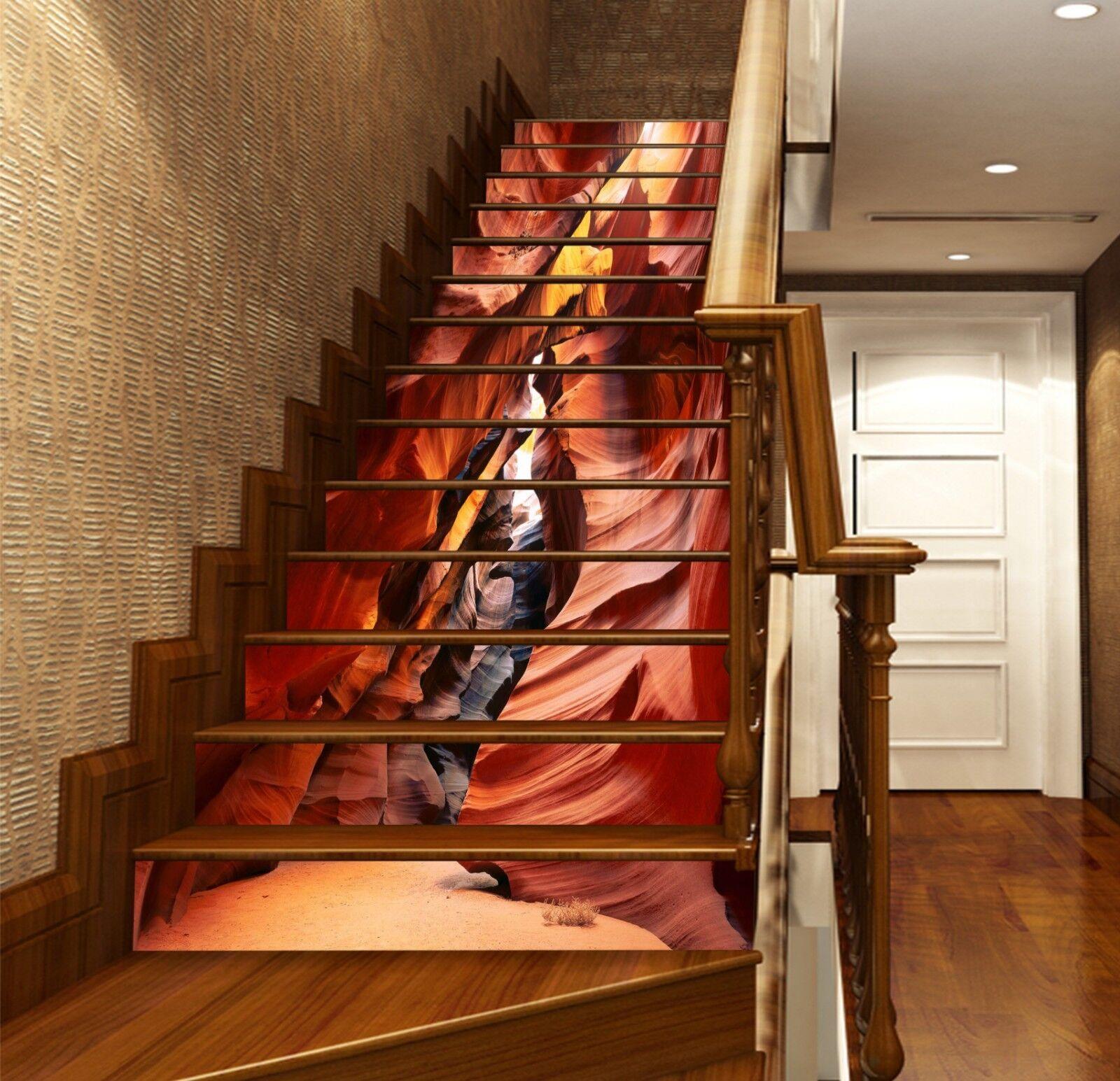 3D Bergpfad 2321 Stair Risers Dekoration Fototapete Vinyl Aufkleber Tapete DE