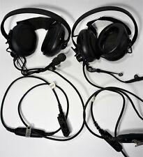 Motorola Enmn4016a Two Way Radio Headset Microphone Untested Lot Of 2