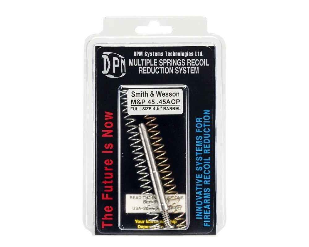 DPM Spring Recoil Spring DPM System For S&W M&P 45 Barrel 4.5