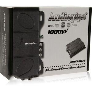 Audiopipe APMI-2075 1000W Mini 2-Channel APMI Series Amplifier