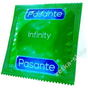 50 Aktverlängernde KONDOME Pasante INFINITY DELAY + EXS TOP SEX