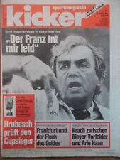 KICKER 63 - 4.8. 1988 Ernst Happel Daum Pokal-Vorschau Ulm-Nürnberg 1:4 Tennis
