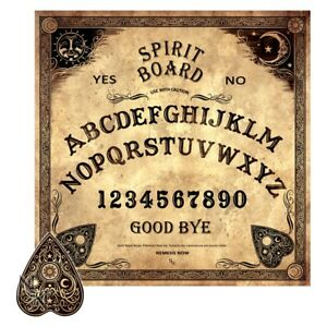 OUIJA SPIRIT BOARD WICCA PAGAN OCCULT HALLOWEEN GOTHIC WITCHES WICHCRAFT FANTASY