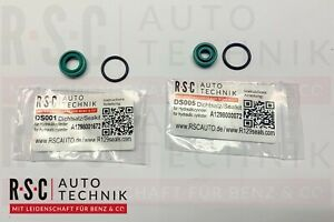 Dichtungssatz-2-Hydraulikzylinder-Verdeck-A124-W208-CLK-Cabrio-Mercedes-Benz