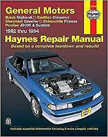 haynes cadillac cimarron 82 94 owners service repair workshop rh ebay co uk Jaguar XJ Jaguar D-Type