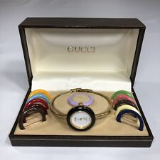 16dfbeb1dea item 7 VTG Gucci Watch Interchangeable Bezels Box Petite Wristwatch 1000-L  70s 80s -VTG Gucci Watch Interchangeable Bezels Box Petite Wristwatch  1000-L 70s ...