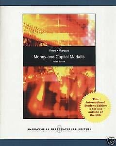 Money and Capital Markets with S and P Bind-in Card by Marquis, Milton-ExLibrary