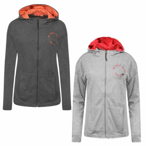 New Mens Tokyo Laundry Rousey Pocket Gym Zip Up Hoodie Size S-XL