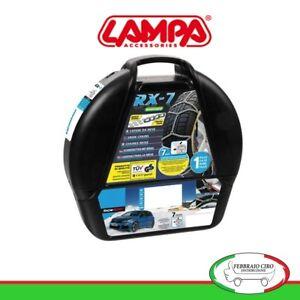 16383 - Catene da neve 7mm Lampa RX-7 Omologate Gruppo 6 pneumatici 195/45r16