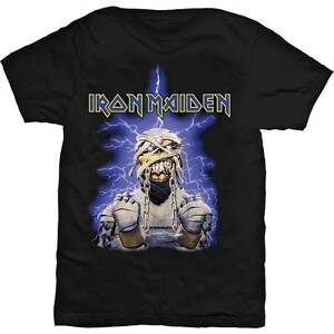 IRON MAIDEN Powerslave Egypt T-Shirt All Sizes NEW OFFICIAL Logo Aces High Eddie