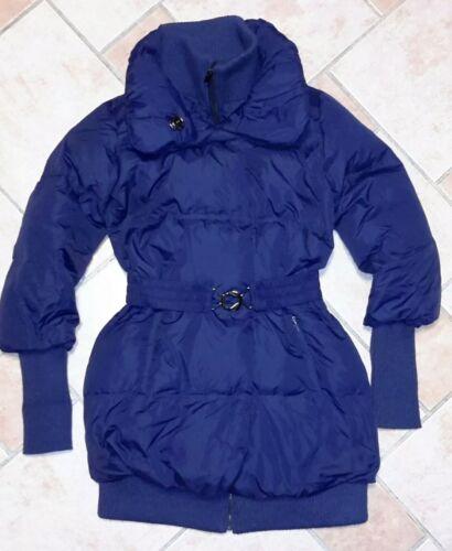 Parka In Blau Jacke 38M Neuw Winter Amisu Steppjacke Damen