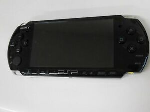 U1099-Sony-PSP-3000-console-Piano-Black-Handheld-system-Japan-JUNK