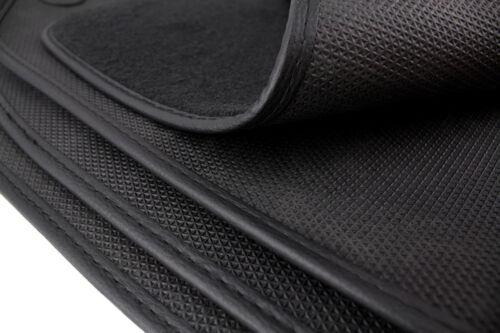 Fußmatten Mercedes C-Klasse W204 S204 AMG Original Qualität Matten Velours Leder
