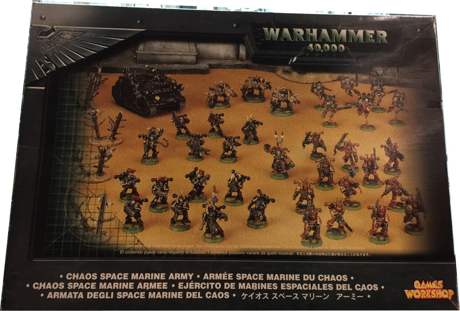 Warhammer 40.000 Chaos  space Marine Army, Nuovo